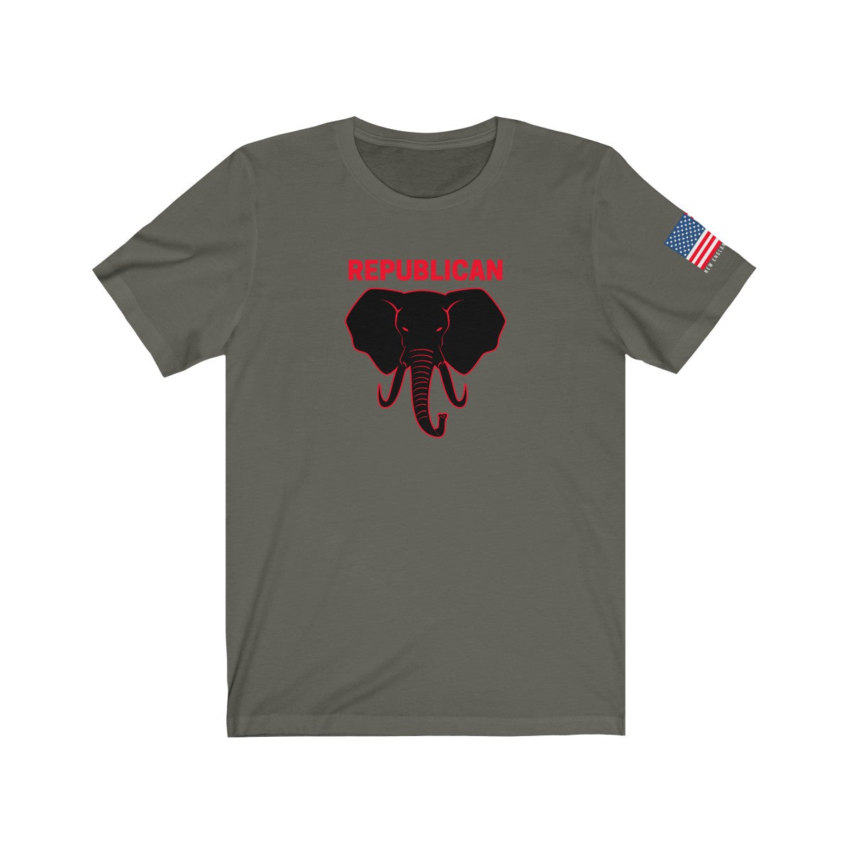 Republican Elephant Black
