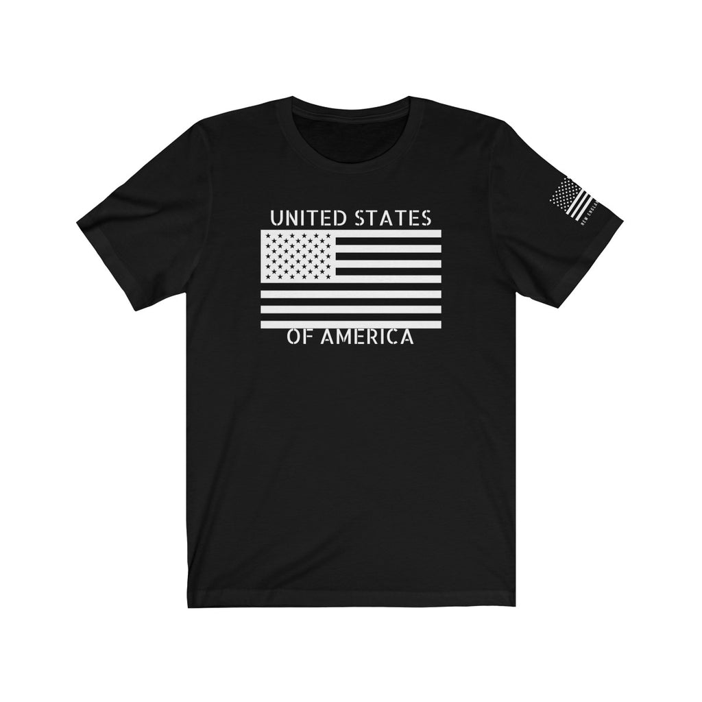 United States of America Black and White