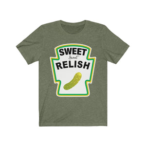 (Soft Unisex Bella) Condiment Costume - Sweet Relish Pickle