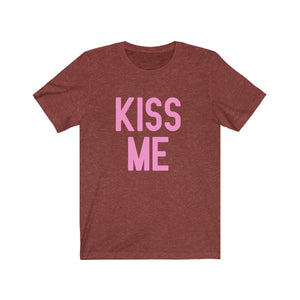 (Unisex Soft Bella) Conversational Hearts Costume Tee - KISS ME