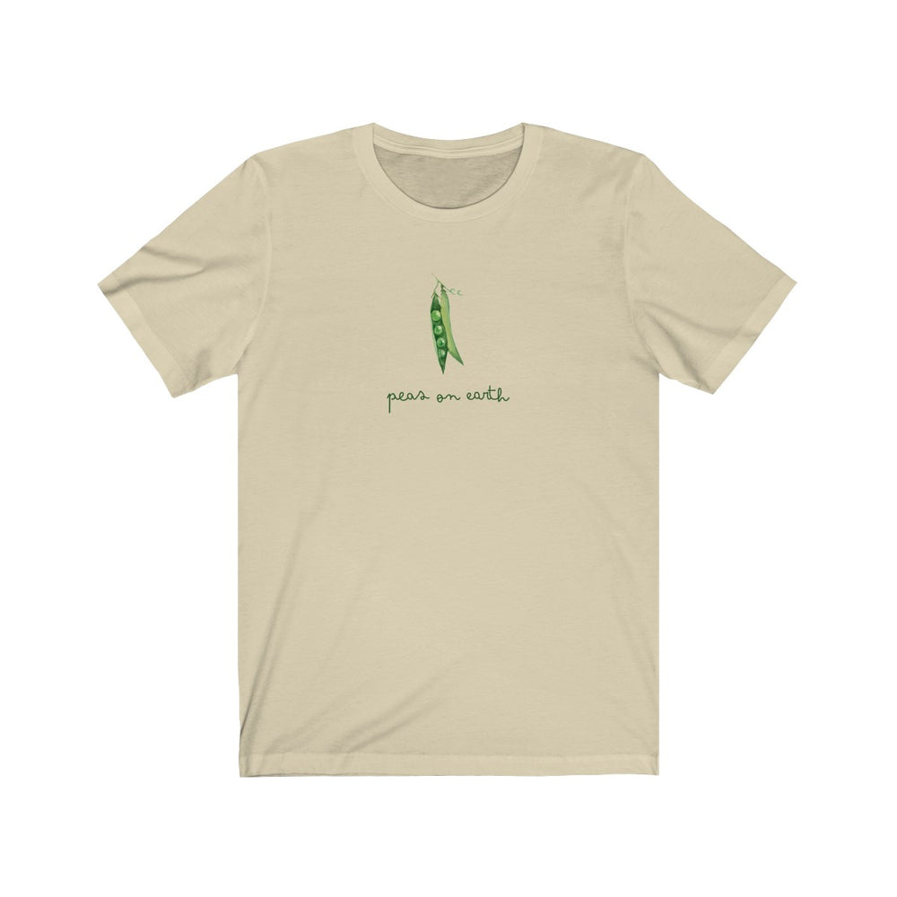 (Soft Unisex Bella) Peas on Earth