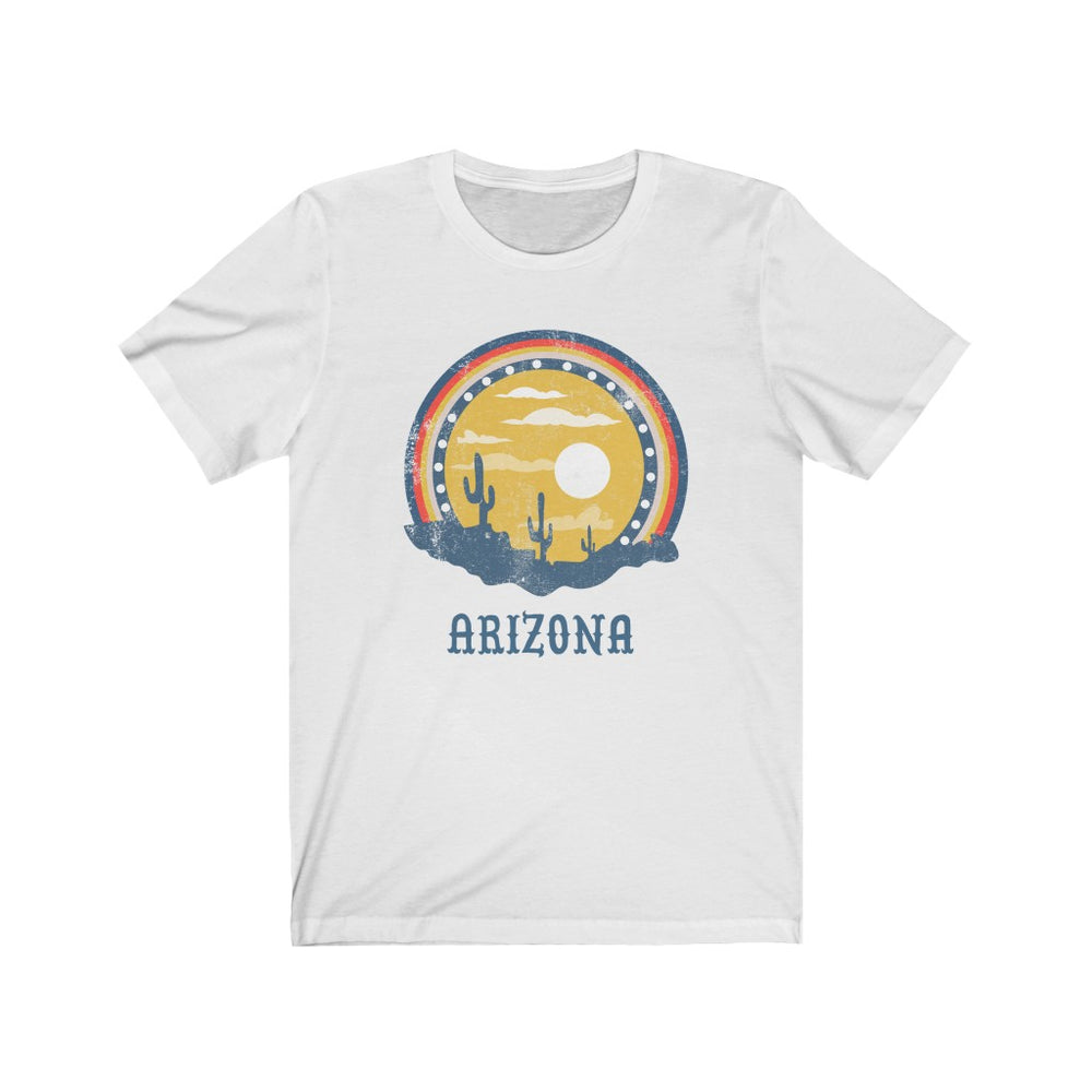 (Soft Unisex Bella) Arizona Sunset | Iconic State Tee T-Shirt