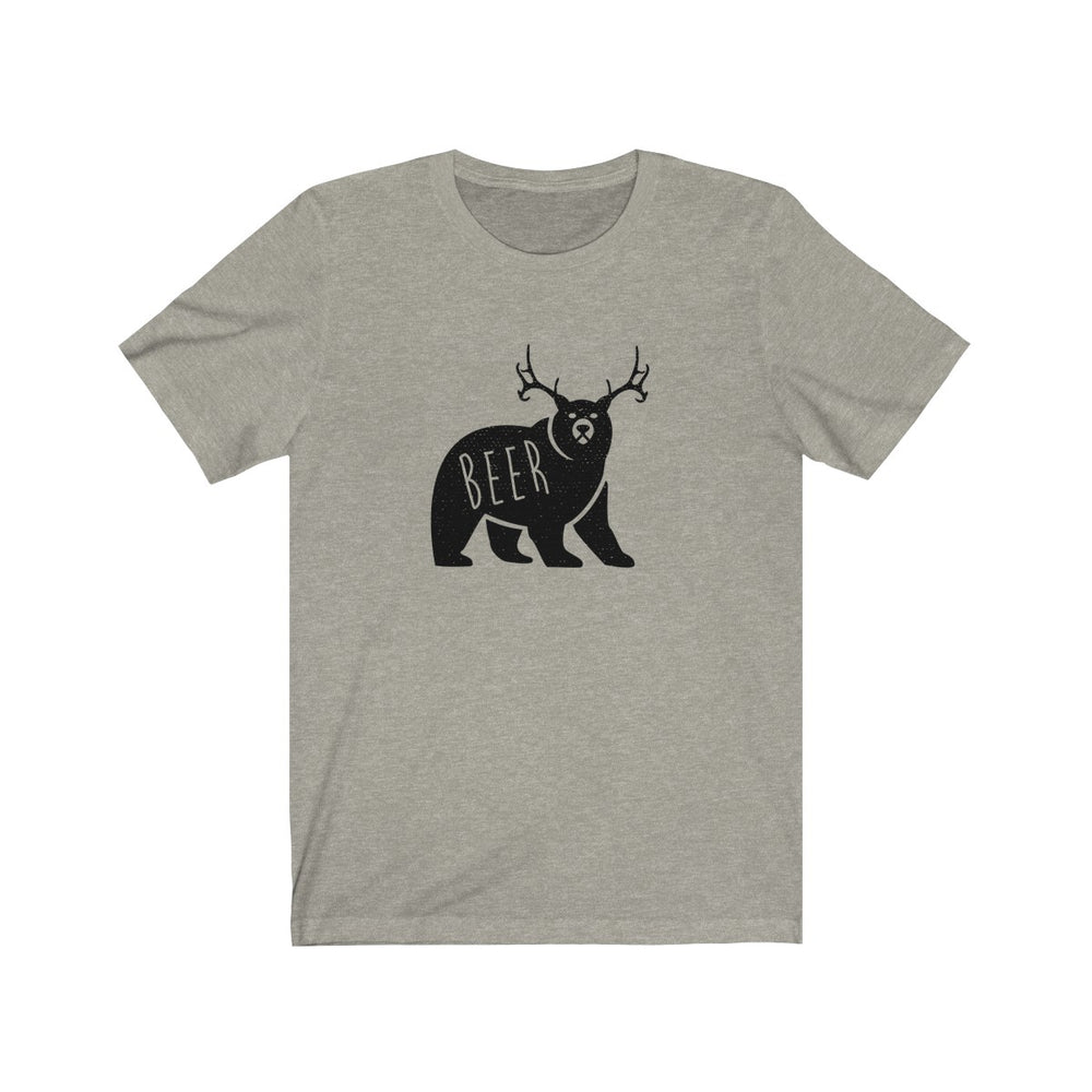 (Soft Unisex Bella) Beer Bear Deer