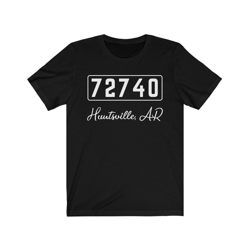 (Soft Unisex Bella) Zipcode City Name -  Huntsville, AR 72740