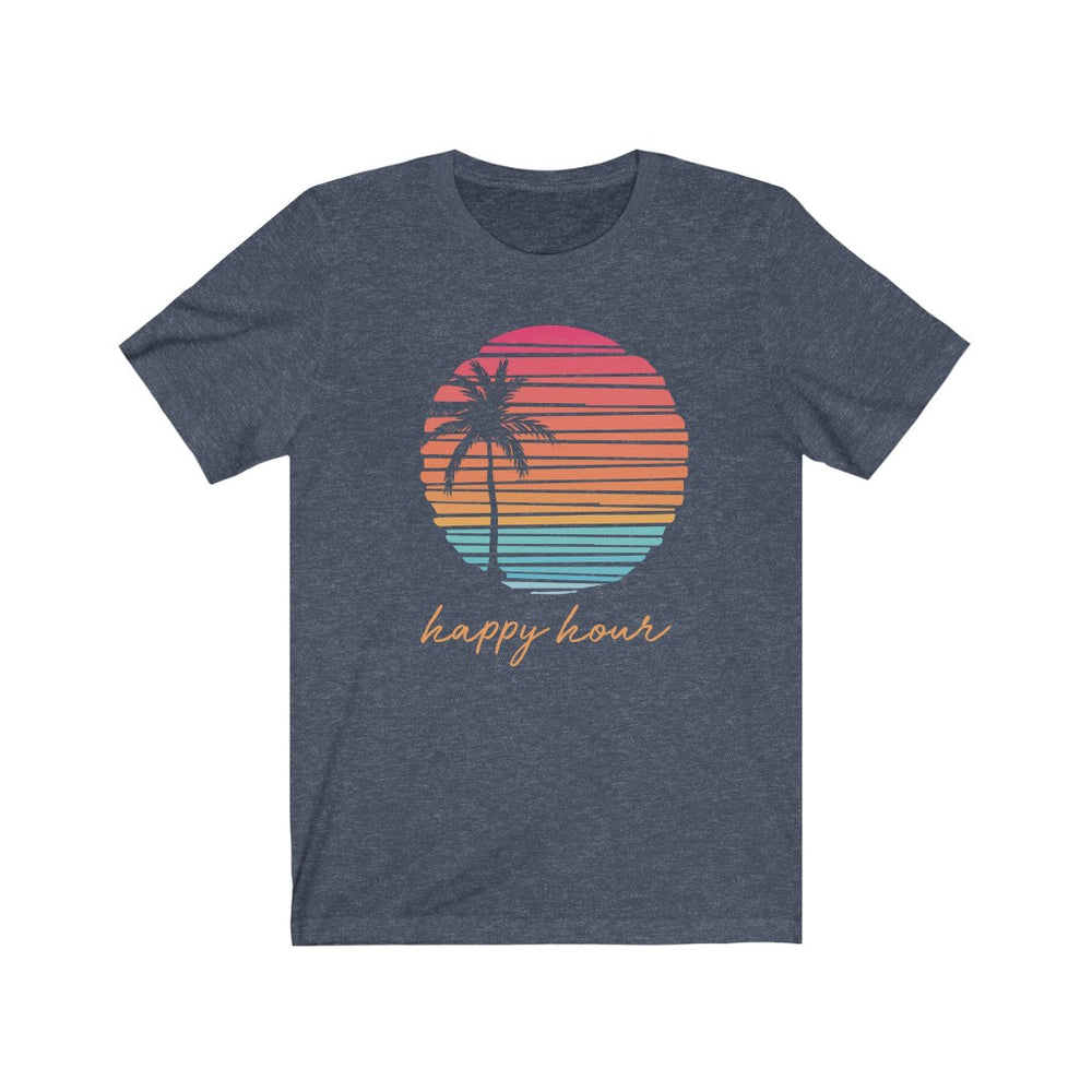 (Soft Unisex Bella) Happy Hour | Iconic State Tee T-Shirt
