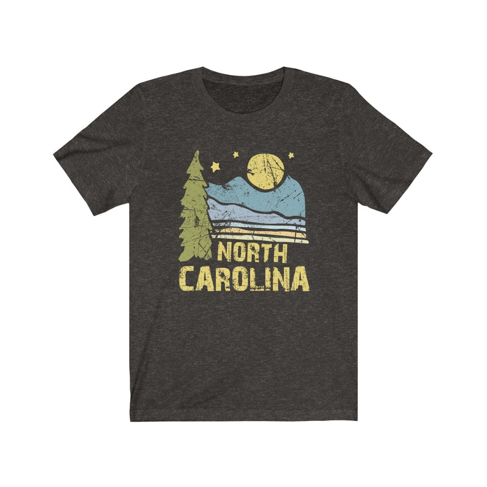 (Soft Unisex Bella) North Carolina Night