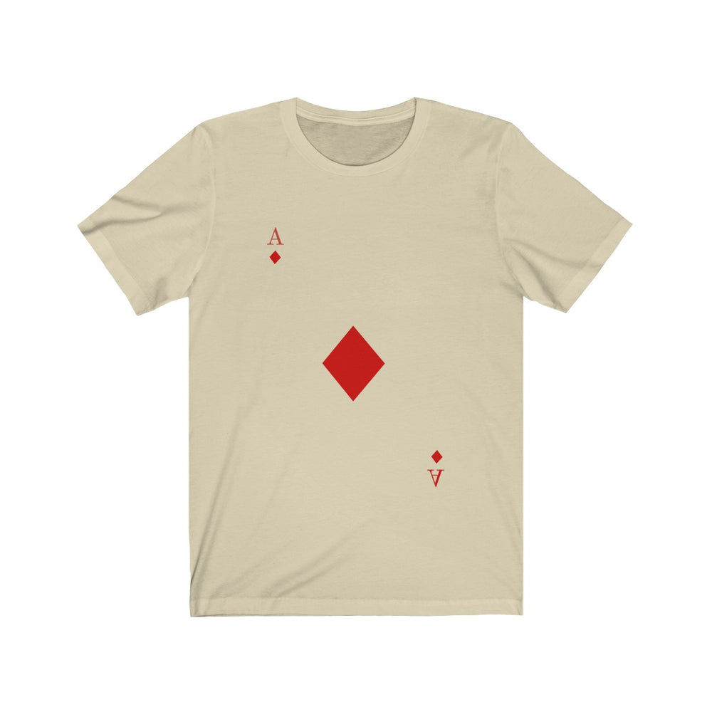 (Soft Unisex Bella) Playing Cards Costume - Ace of Diamonds