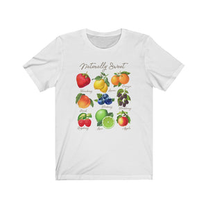 (Soft Unisex Bella) Naturally Sweet Fruits