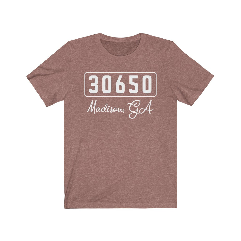 (Soft Unisex Bella) Zipcode City Name - Madison, GA 30650