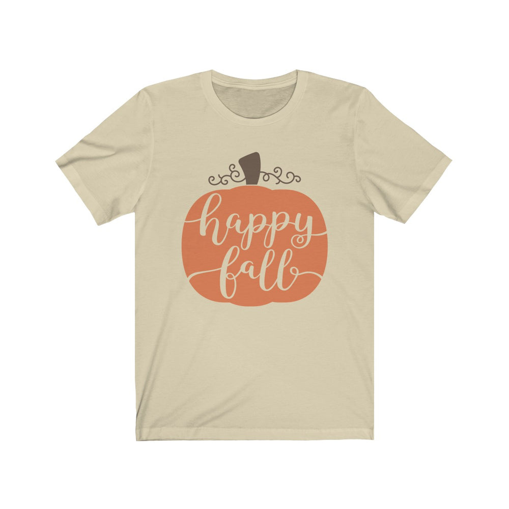(Soft Unisex Bella) Happy Fall Pumpkin