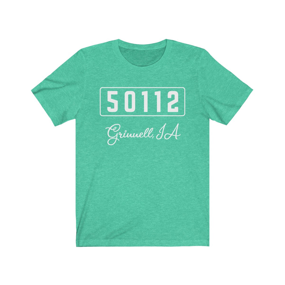(Soft Unisex Bella) Zipcode City Name - Grinnell, IA 50112