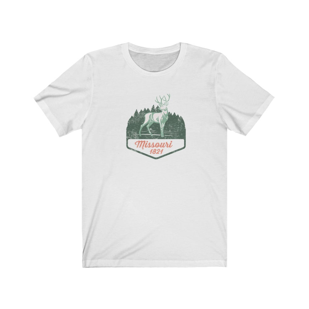 (Soft Unisex Bella) Missouri 1821 | Iconic State Tee T-Shirt