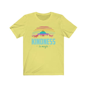 (Soft Unisex Bella) Kindness is Magic | Iconic State Tee T-Shirt