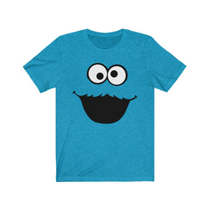 (Soft Unisex Bella) Monster Loves Cookies Costume-T-Shirt-Ellas-Canvas-DesIndie