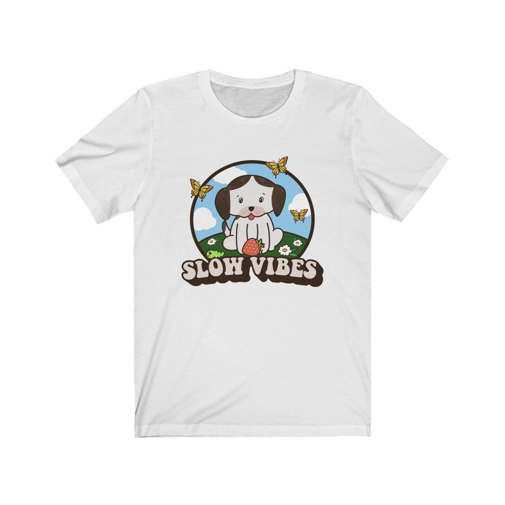(Soft Unisex Bella) Slow Vibes Puppy