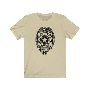 (Soft Unisex Bella) Grammar Police Badge
