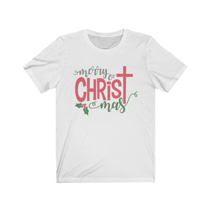 (Soft Unisex Bella) Merry Christ-mas