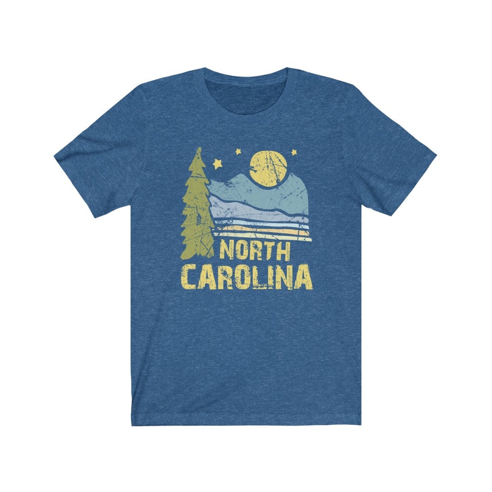 (Soft Unisex Bella - Other Colors) North Carolina Night