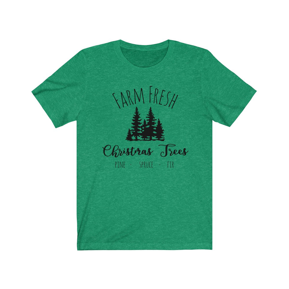(Soft Unisex Bella) Farm Fresh Christmas Trees