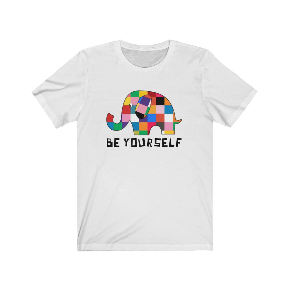 (Soft Unisex Bella) Be Yourself Elephant