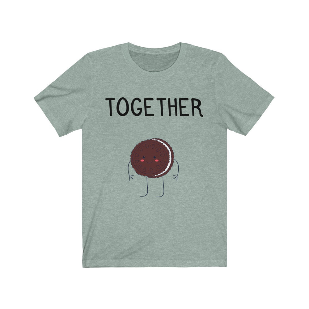 (Soft Unisex Bella) We Belong Together Matching Sets - Chocolate Cookie