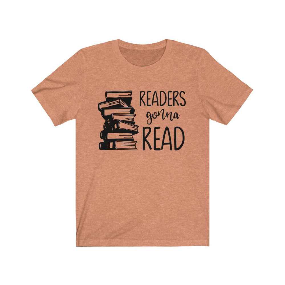 (Soft Unisex Bella) Readers Gonna Read (black)