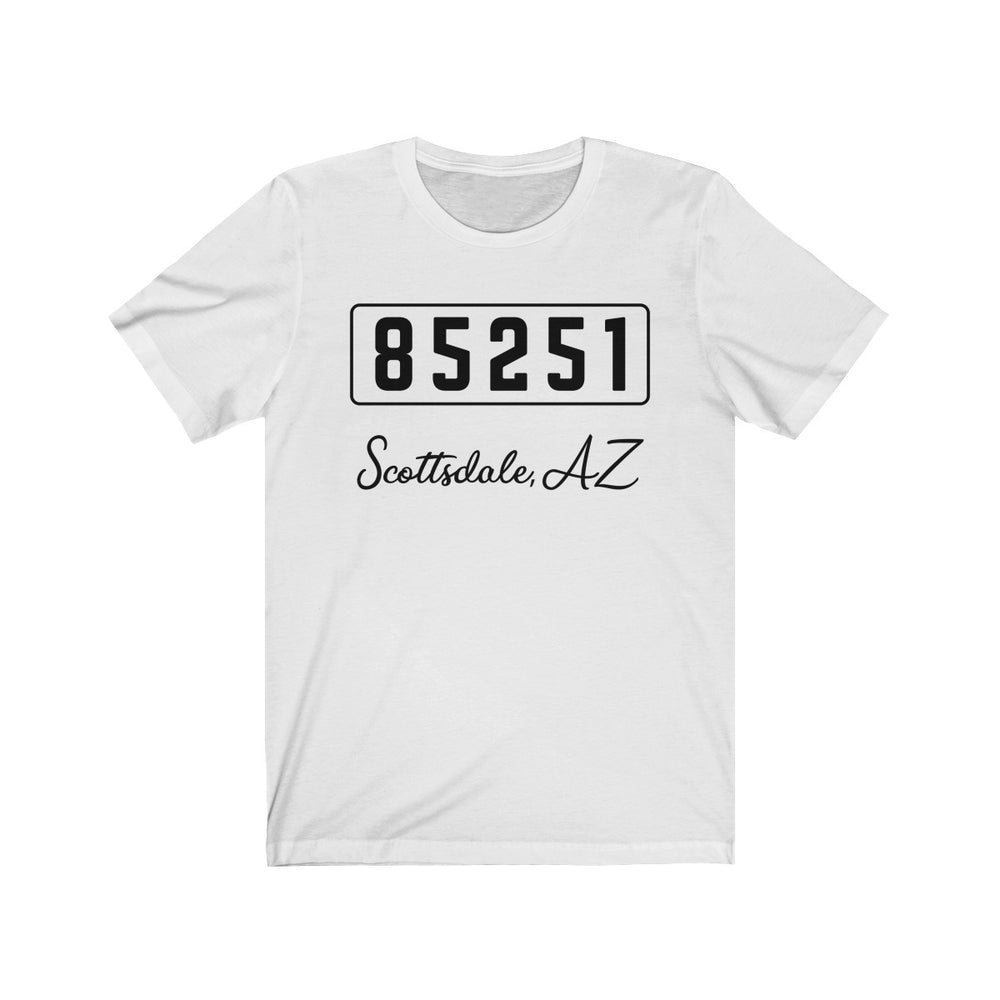 (Soft Unisex Bella) Zipcode City Name - Scottsdale, AZ 85251