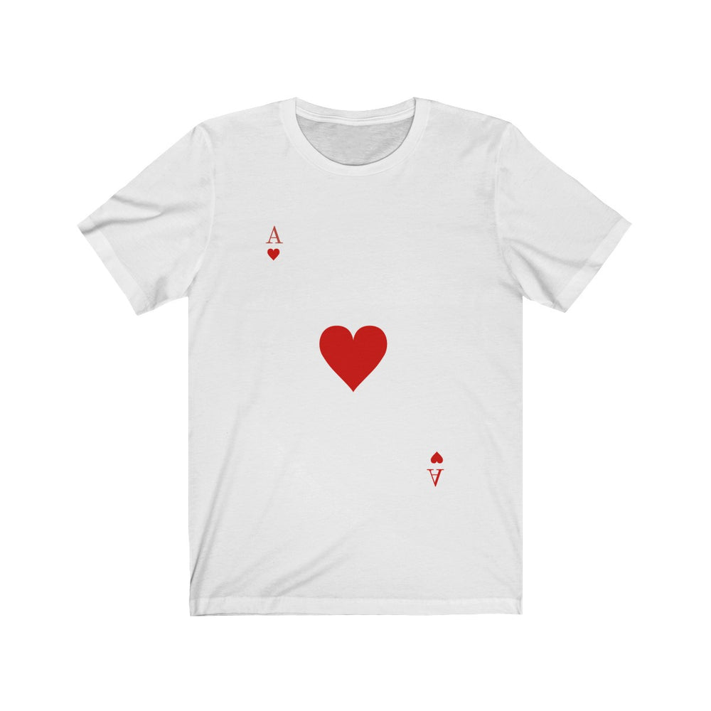 (Soft Unisex Bella) Playing Cards Costume - Ace of Hearts