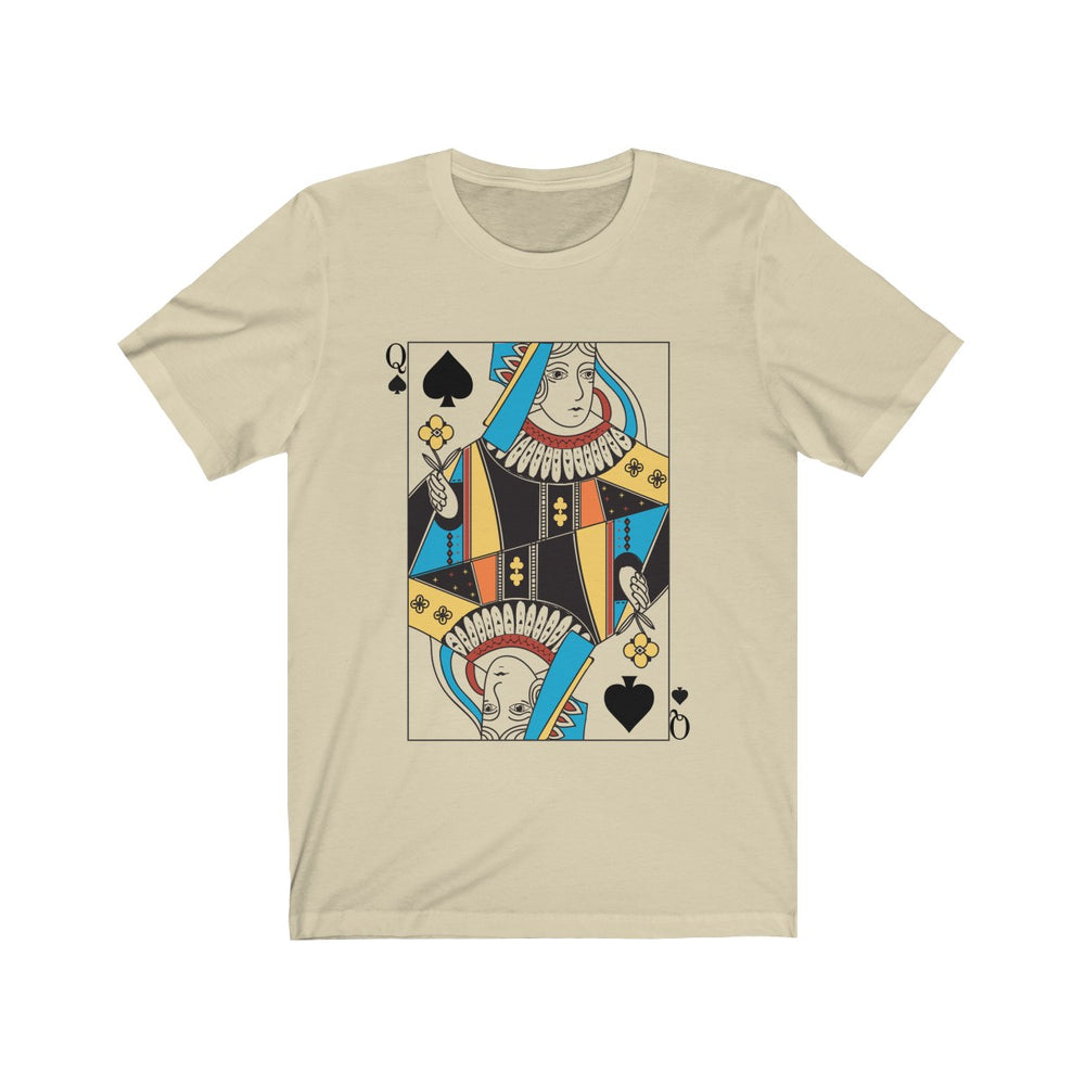 (Soft Unisex Bella) Playing Cards Costume - Queen of Spades