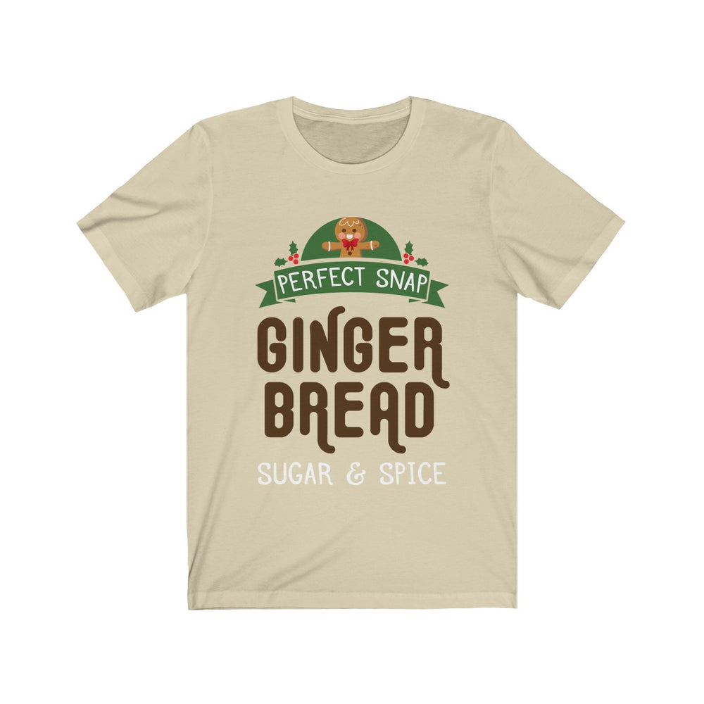 (Soft Unisex Bella) Matching Holiday Goodies - Ginger Bread