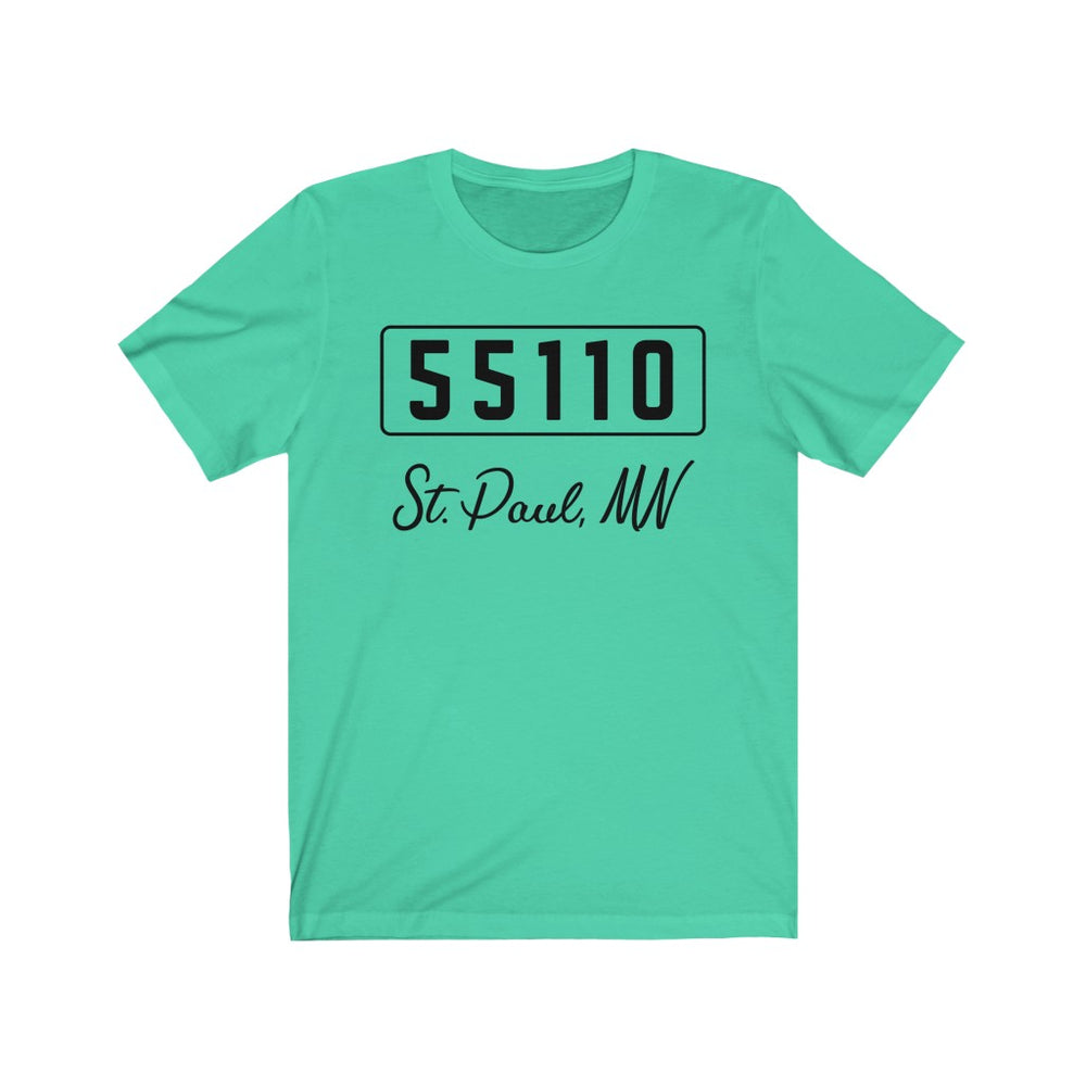 (Soft Unisex Bella) Zipcode City Name - St. Paul, MN 55110
