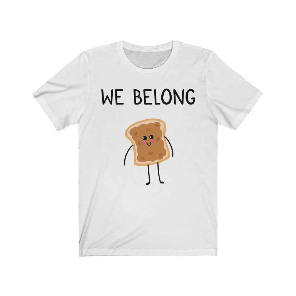 (Soft Unisex Bella) We Belong Together Matching Sets - Peanut Butter Bread