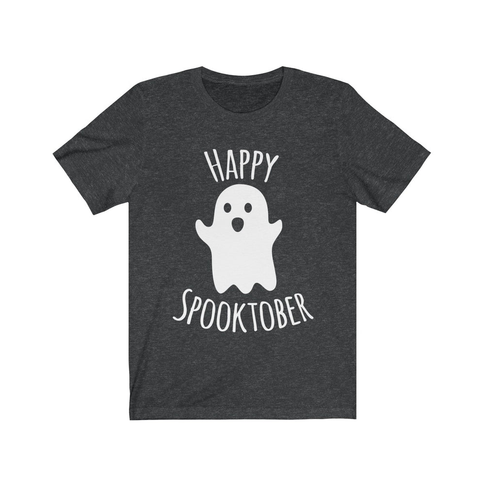 (Soft Unisex Bella) Happy Spooktober Halloween