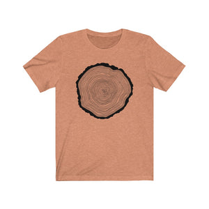 (Soft Unisex Bella) Tree Rings
