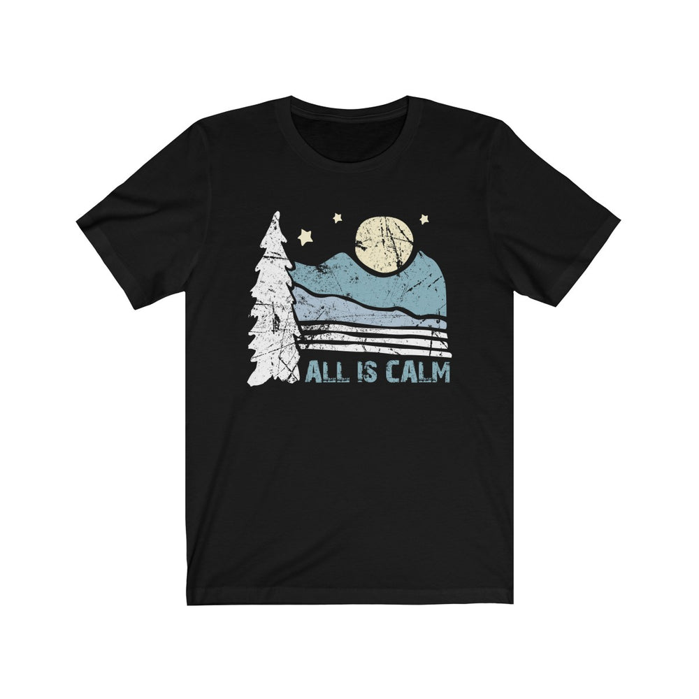 (Soft Unisex Bella) All is Calm Night Scene Moon