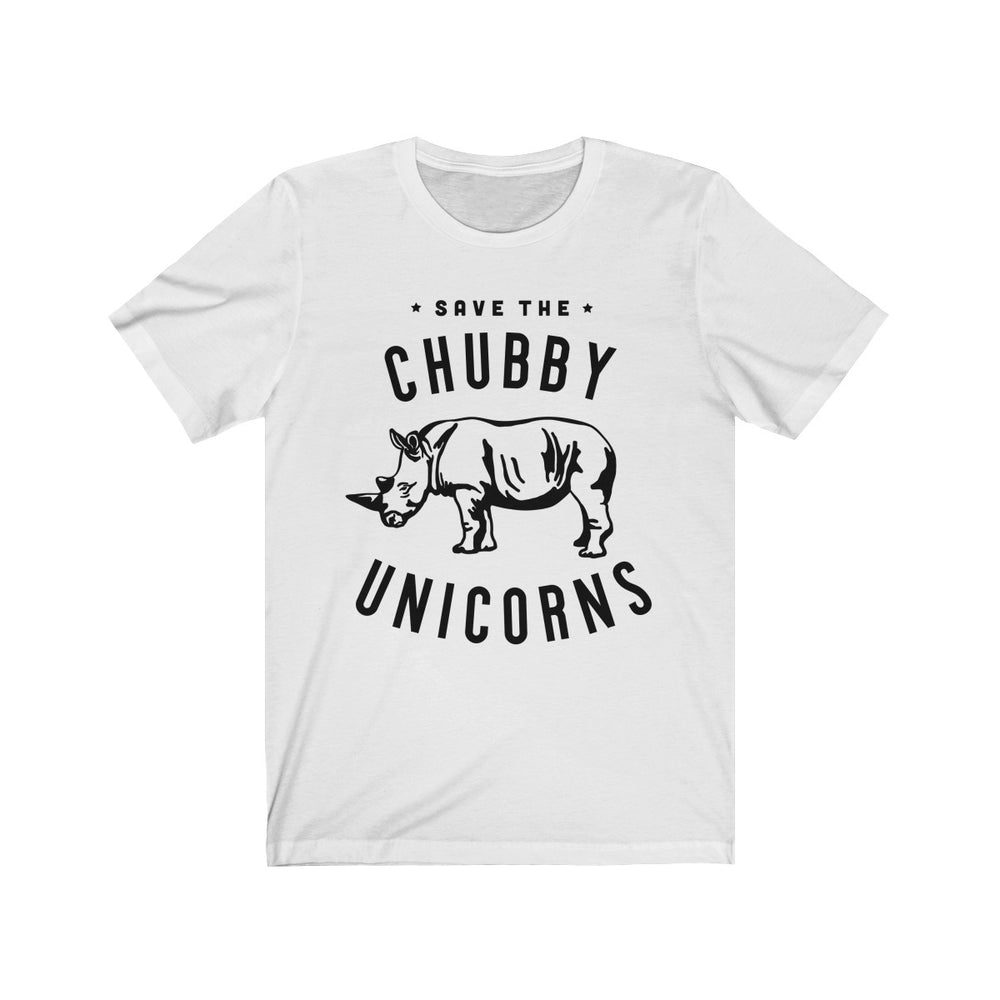 (Soft Unisex Bella) Save the Chubby Unicorns Funny Animals-T-Shirt-Ellas-Canvas-DesIndie