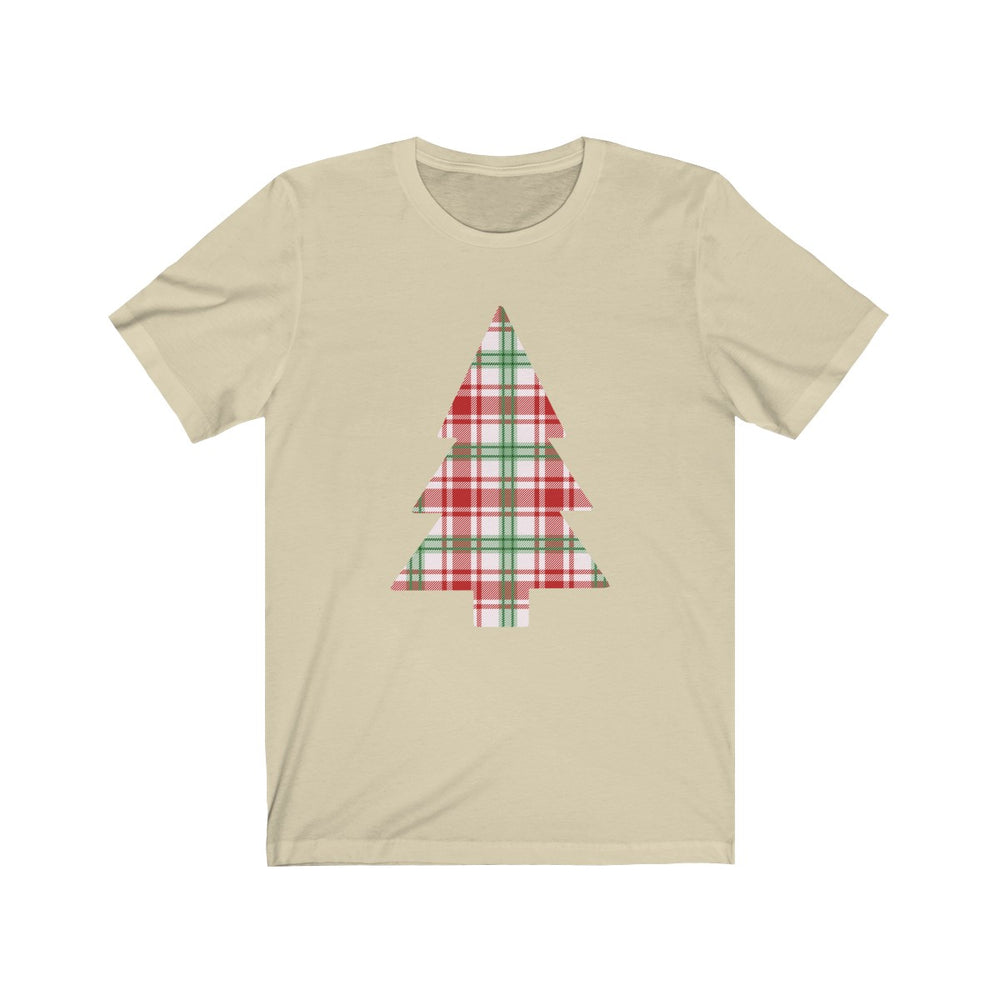 (Soft Unisex Bella) Christmas Tree Pattern