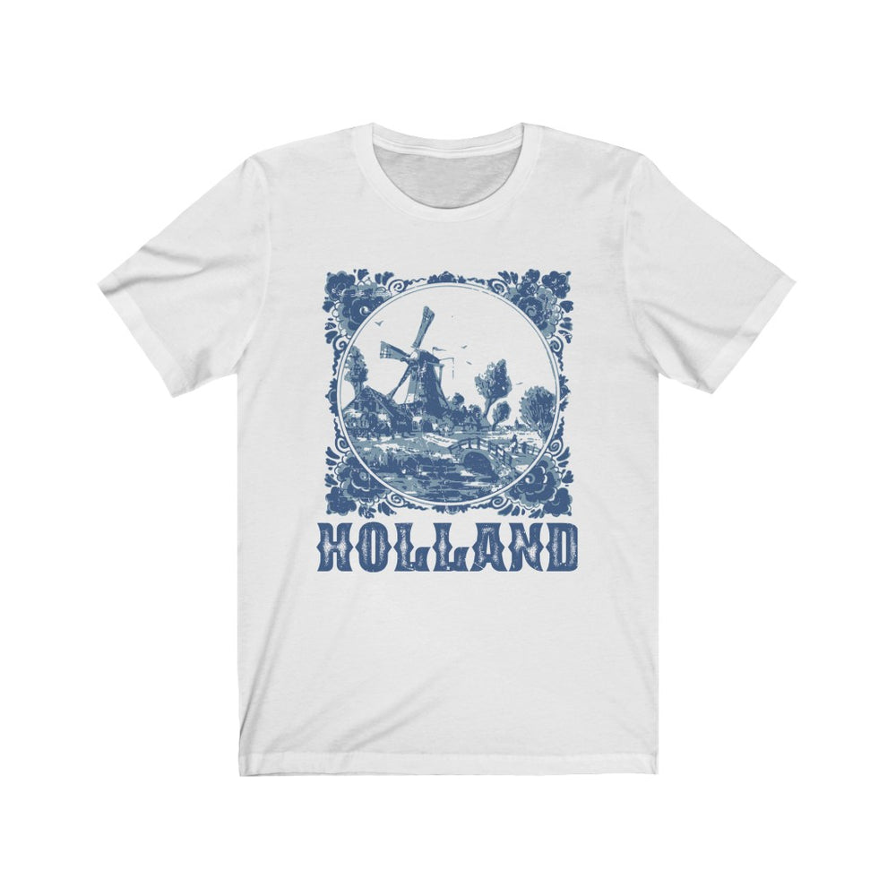 (Soft Unisex Bella) Holland - Iconic World Destinations