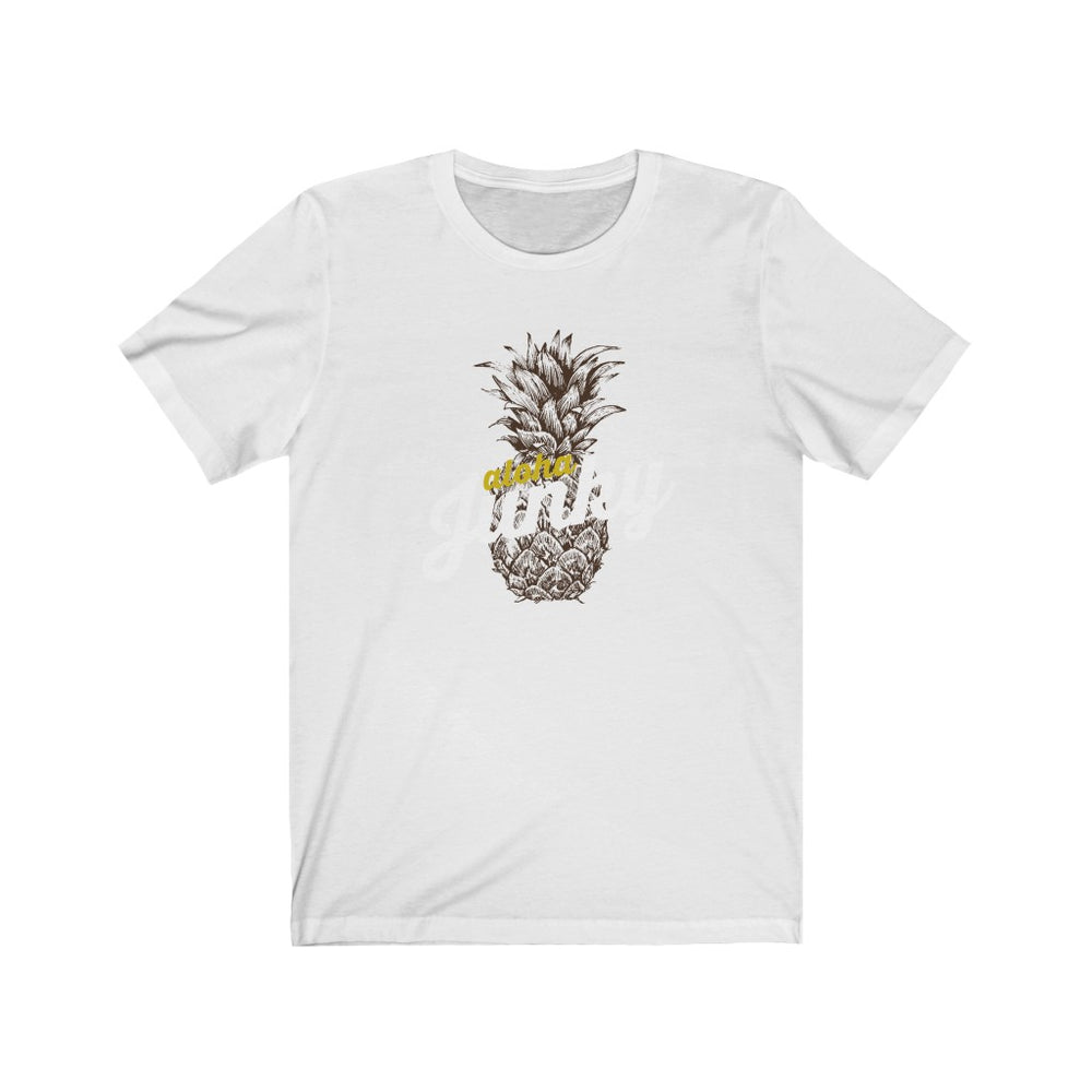 (Soft Unisex Bella) Aloha Junky | Iconic State Tee T-Shirt