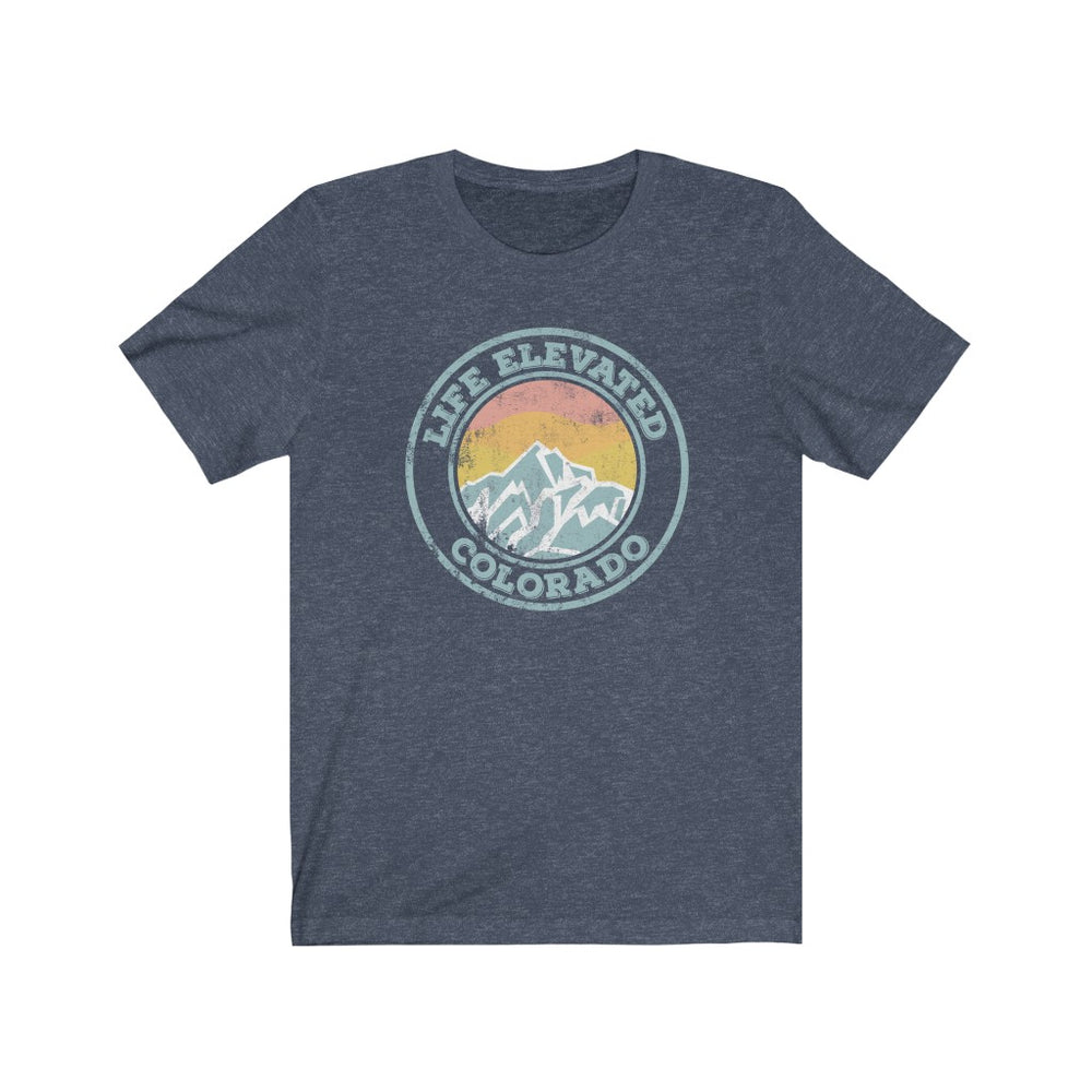 (Soft Unisex Bella) Colorado Life Elevated | Iconic State Tee T-Shirt