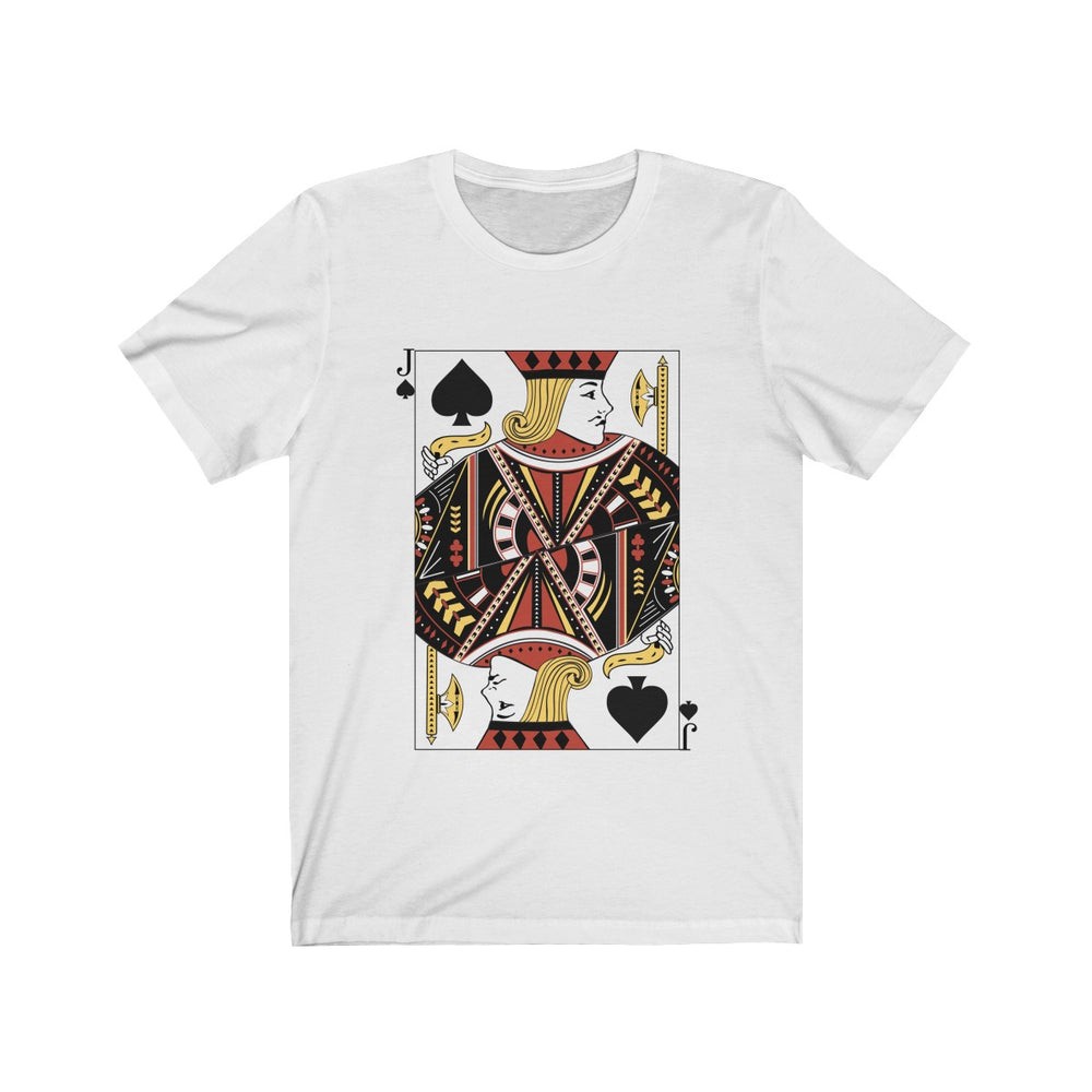 (Soft Unisex Bella) Playing Cards Costume - Jack of Spades