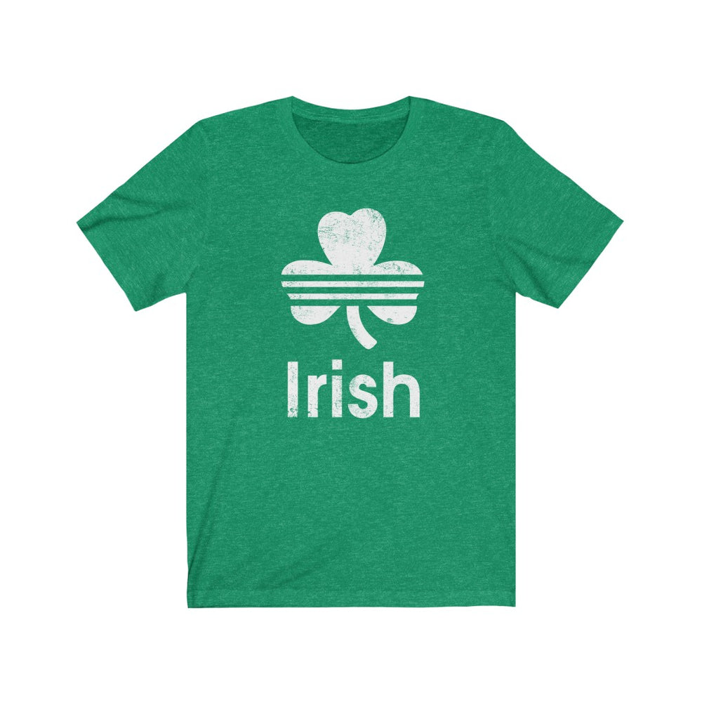 (Soft Unisex Bella - Darks) Irish St. Patrick's Day - White