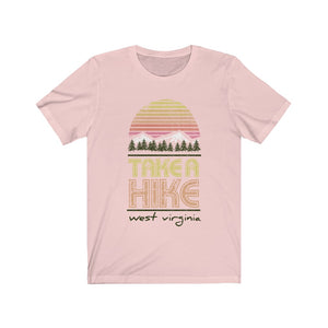 (Soft Unisex Bella) Take a Hike West Virginia| Iconic State Tee T-Shirt