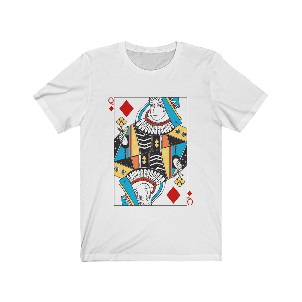 (Soft Unisex Bella) Playing Cards Costume - Queen of Diamonds