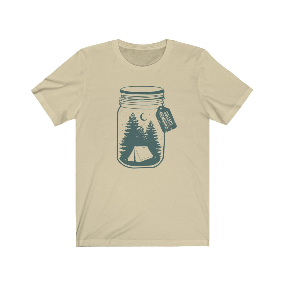 (Soft Unisex Bella) Collect Memories (teal)