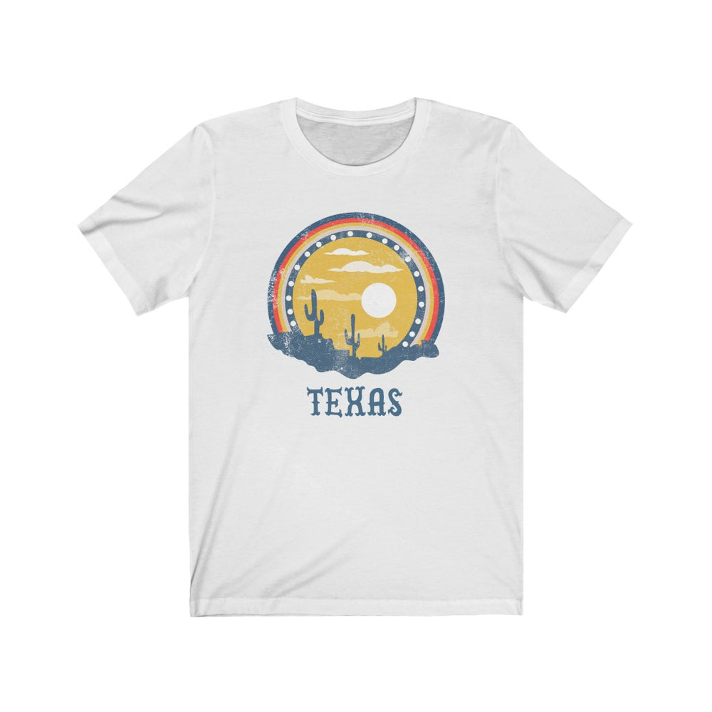 (Soft Unisex Bella) Texas Sunset Cactus