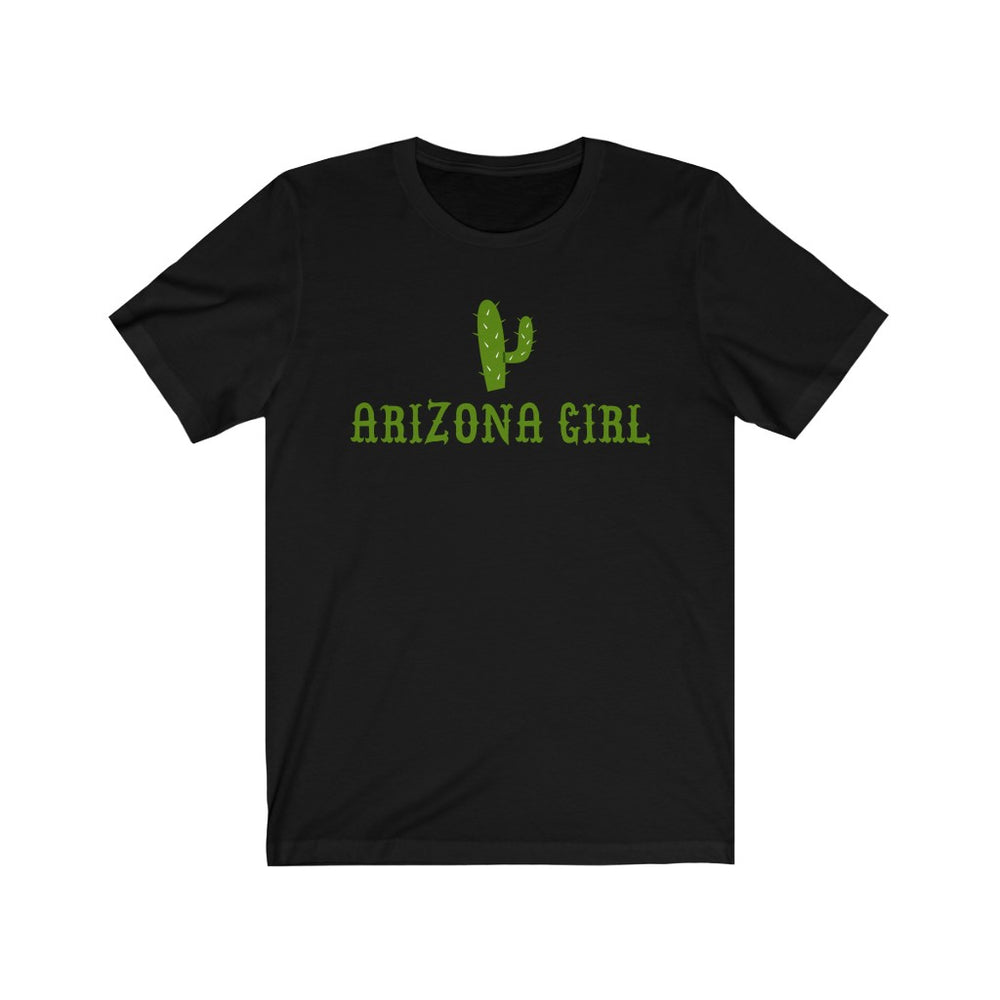(Soft Unisex Bella) Arizona Girl Cacti (darker) | Iconic State Tee T-Shirt