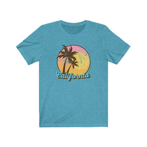 (Soft Unisex Bella) California | Iconic State Tee T-Shirt