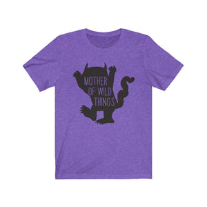 (Soft Unisex Bella) Mother of Wild Things parody