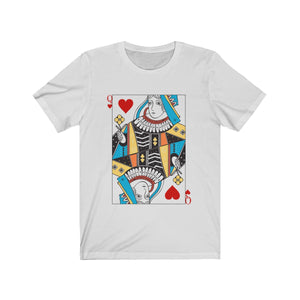 (Soft Unisex Bella) Playing Cards Costume - Queen of Hearts